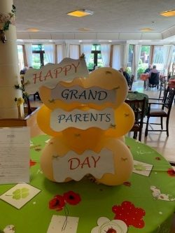 Celebrating Grandparents Day throughout the HomesWB